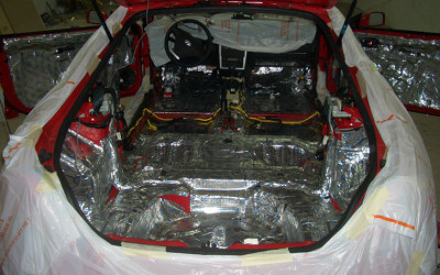Примеры шумоизоляции. Hyundai Tiburon