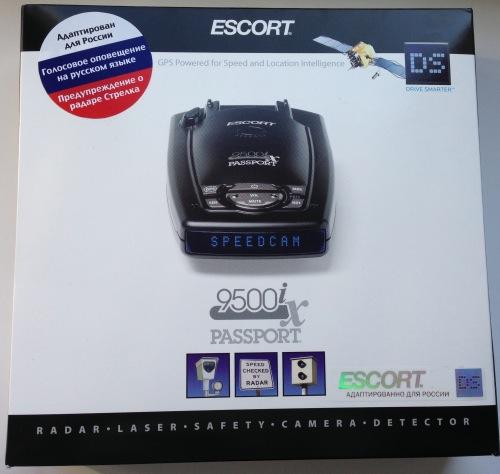 Escort 9500ix box