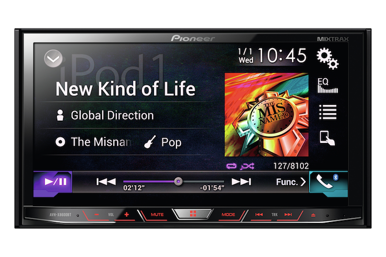 Pioneer AVH‐X8600BT скоро в продаже