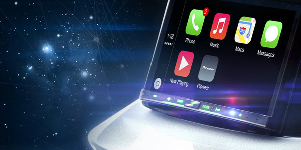 Pioneer внедрил CarPlay от Apple