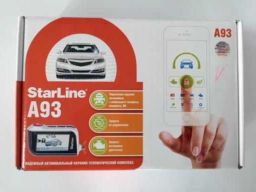 Starline А93 коробка