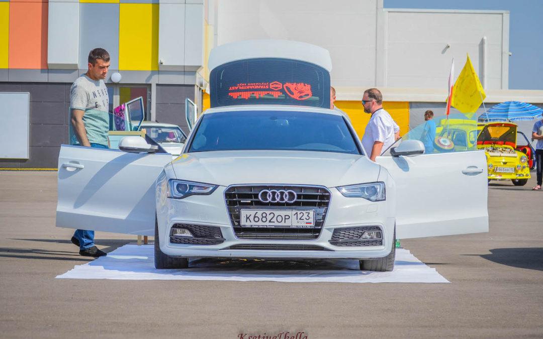 Audi A5. Первое место на этапе ЕММА в Краснодаре