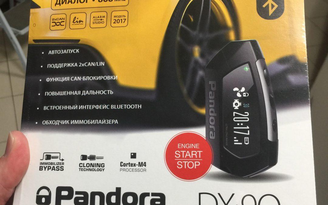 В продажу поступила сигнализация с Bluetooth Pandora DX90BT